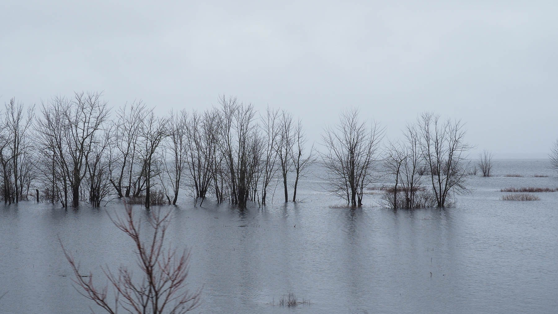 Überschwemmung in Quebec