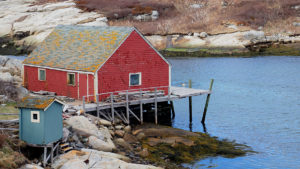 Peggy's Cove Habour 2