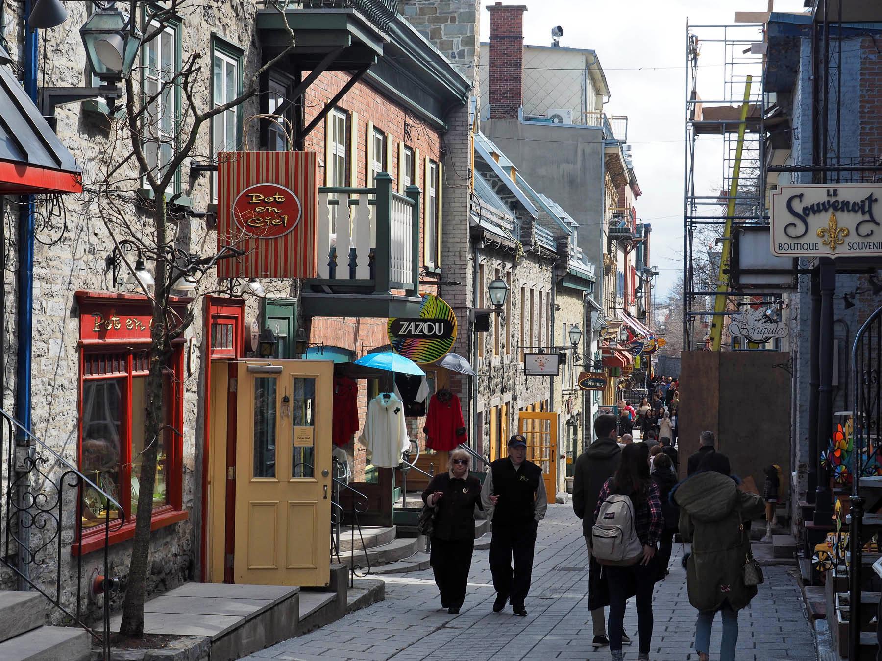 Französischer Flair in Quebec