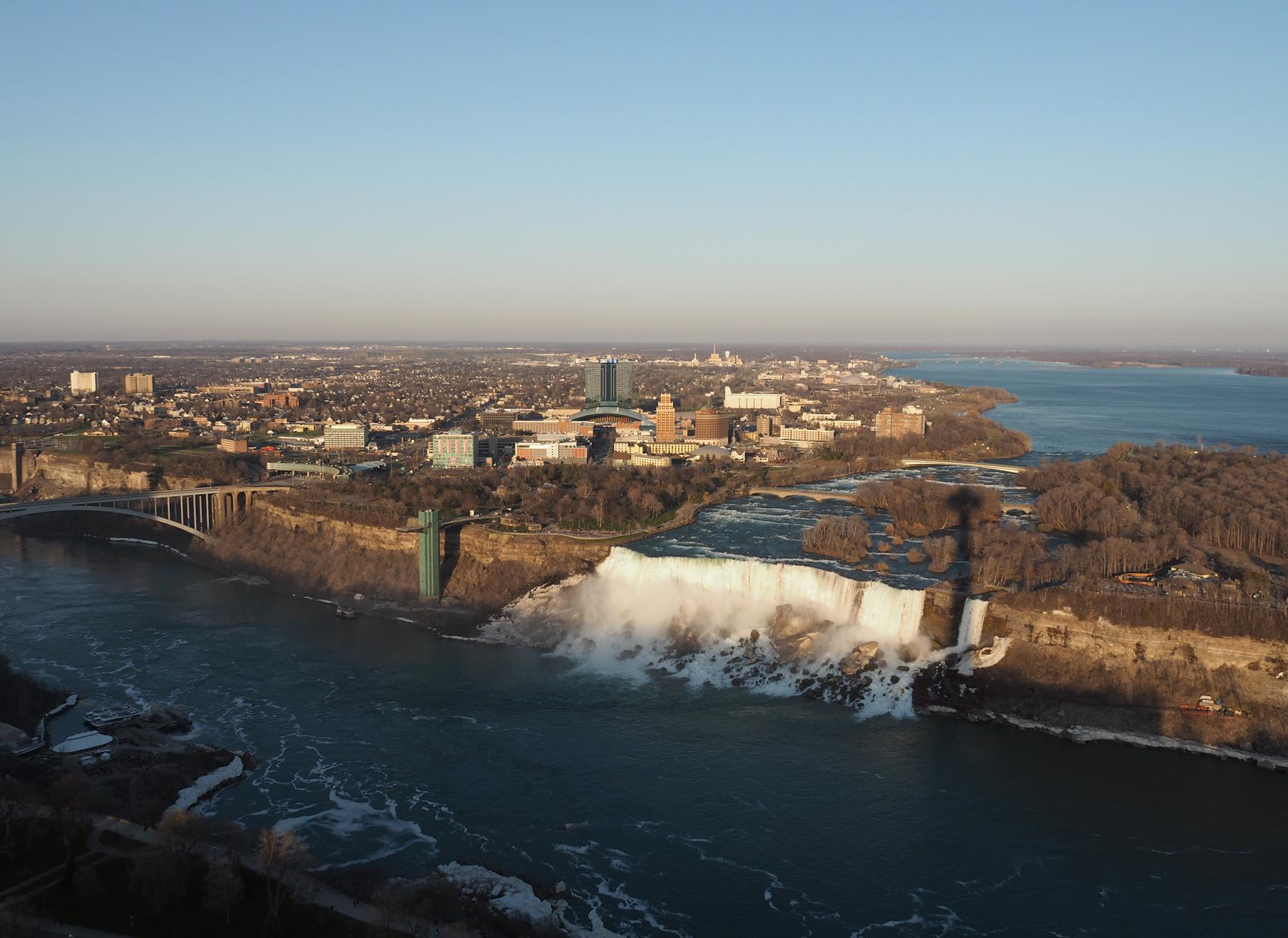 Niagara Falls, amerikanische Seite