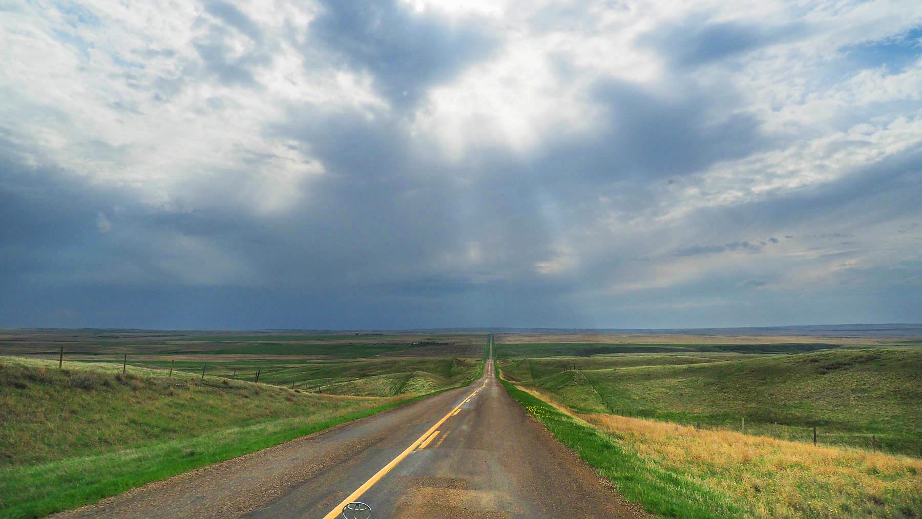 Prärie in Saskatchewan