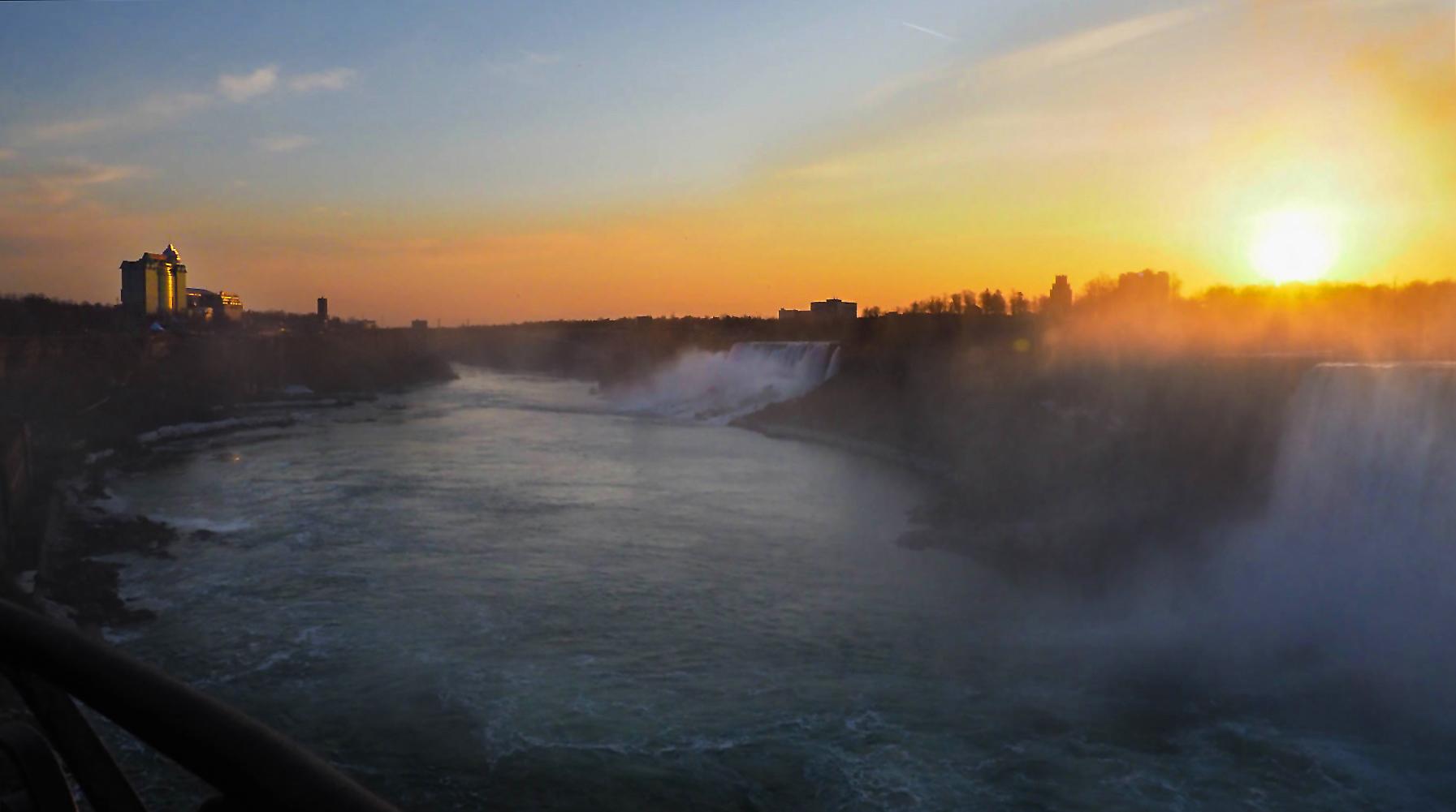 Sonnenaufgang Niagara Falls
