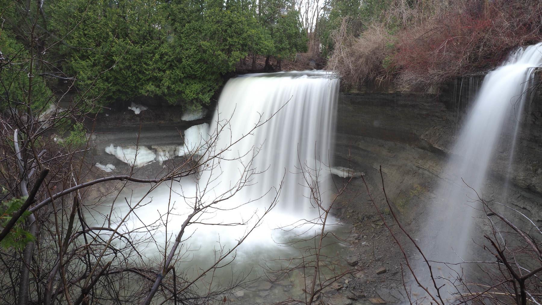 Wasserfall auf der Insel Manitoulin