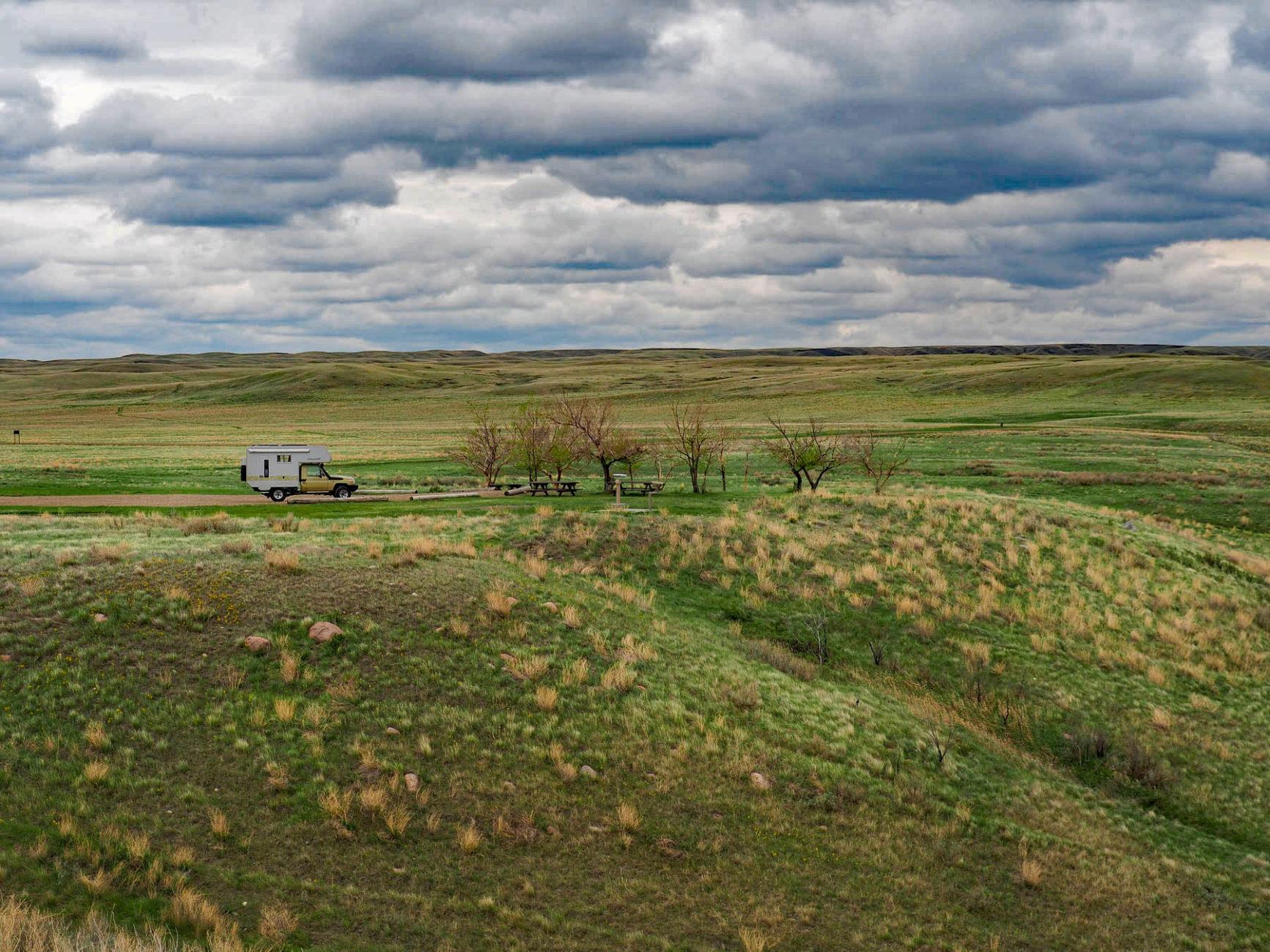Grasland NP, mitten in der Prärie