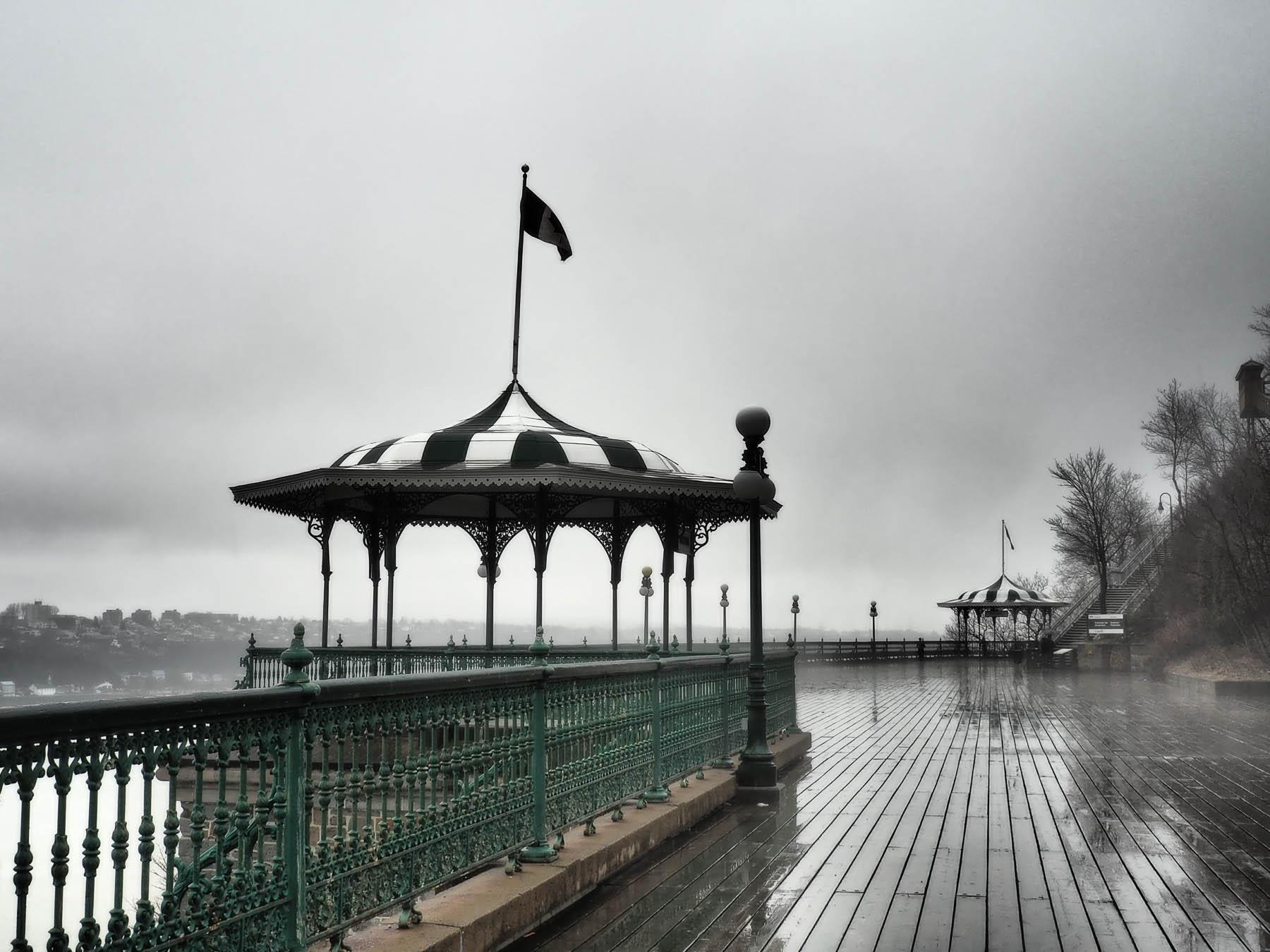 Nebel in Quebec