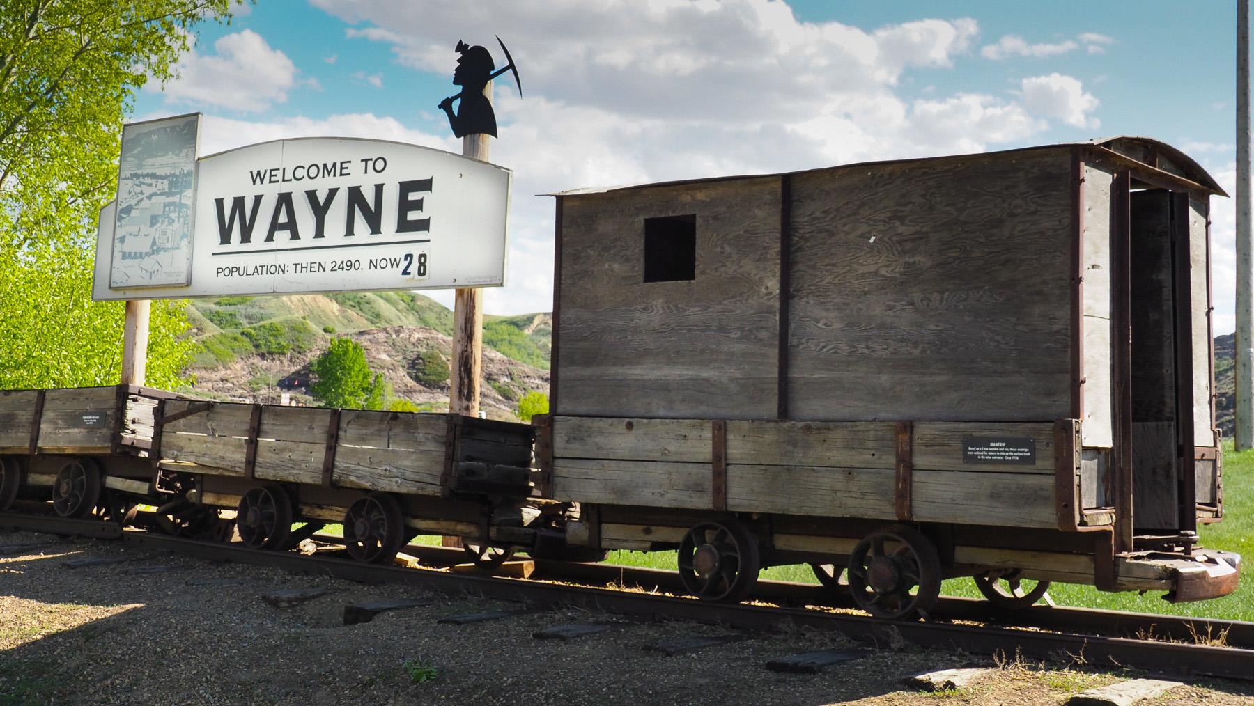 Wayne, alte Bergbausiedlung
