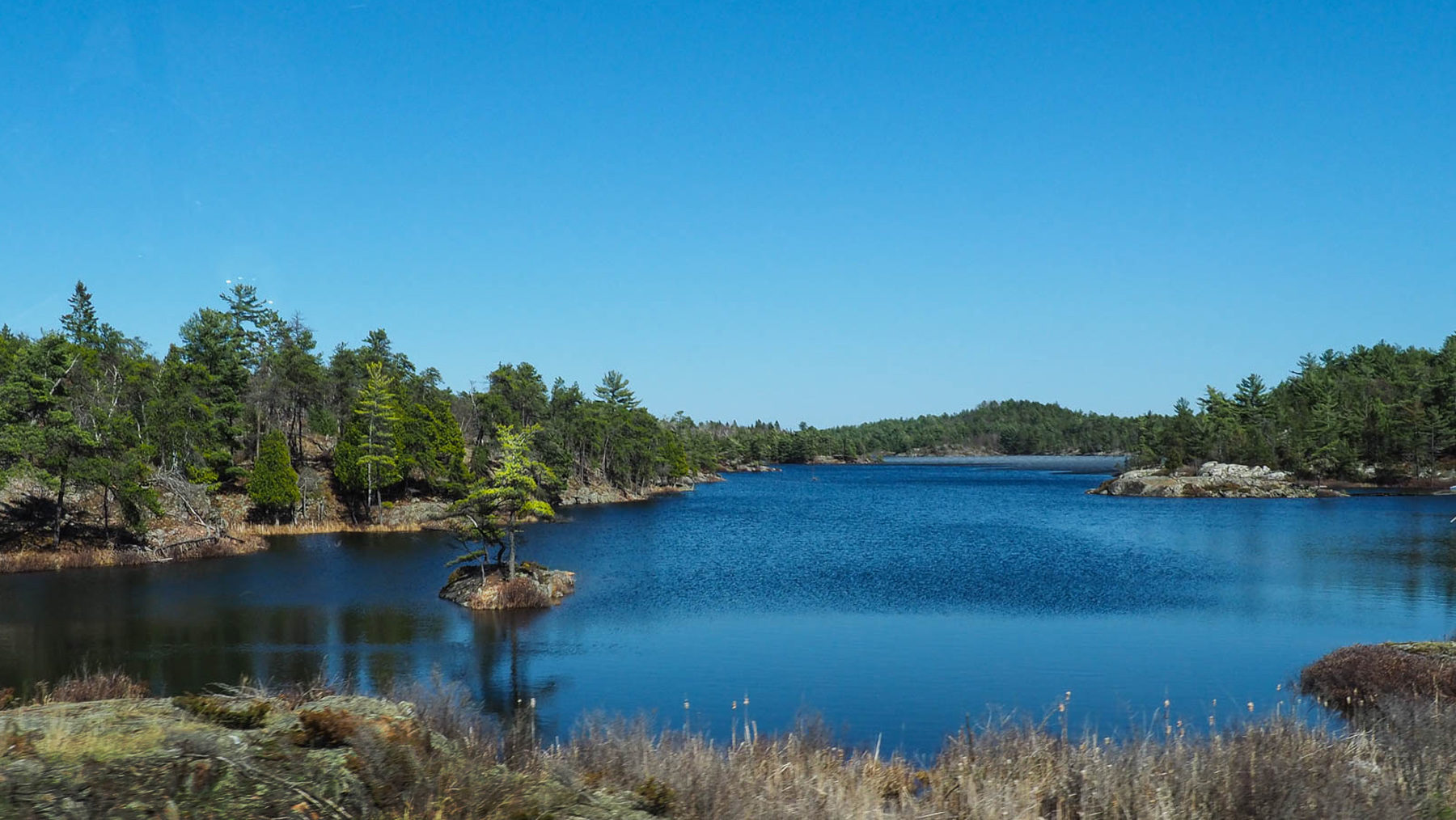 Ontario, einer der vielen Seen