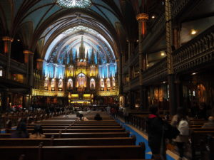 Basilika Notre-Dame De Montreal - Kirchenschiff
