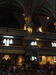 Basilika Notre-Dame De Montreal - Kanzel