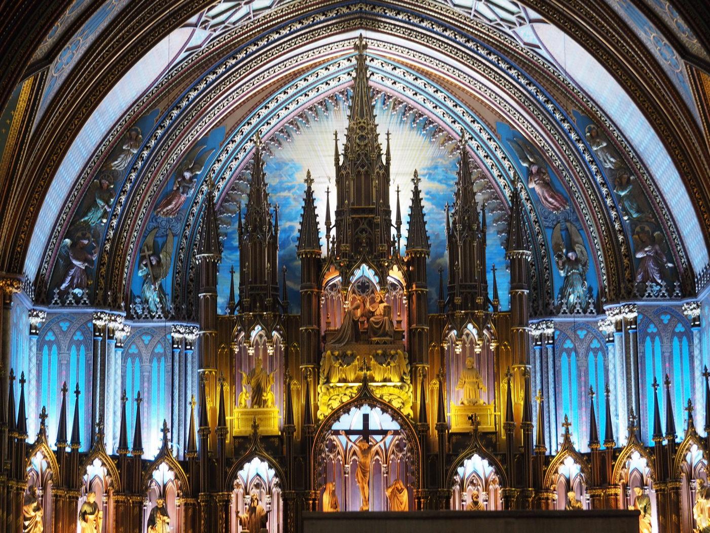 Basilika Notre-Dame De Montreal - Altar