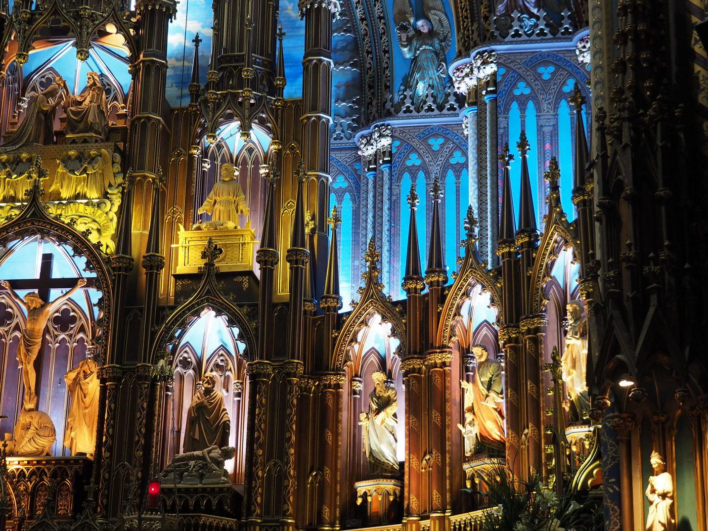 Basilika Notre-Dame De Montreal - Altar Detail