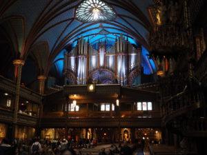 Basilika Notre-Dame De Montreal - Orgel