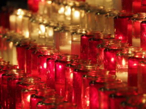 Basilika Notre-Dame De Montreal - Kerzen 2