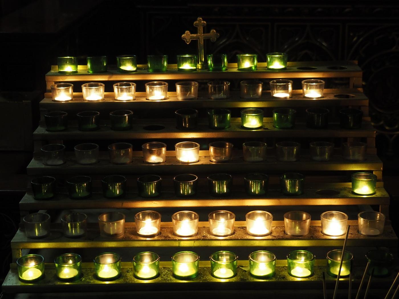 Basilika Notre-Dame De Montreal - Kerzen 4