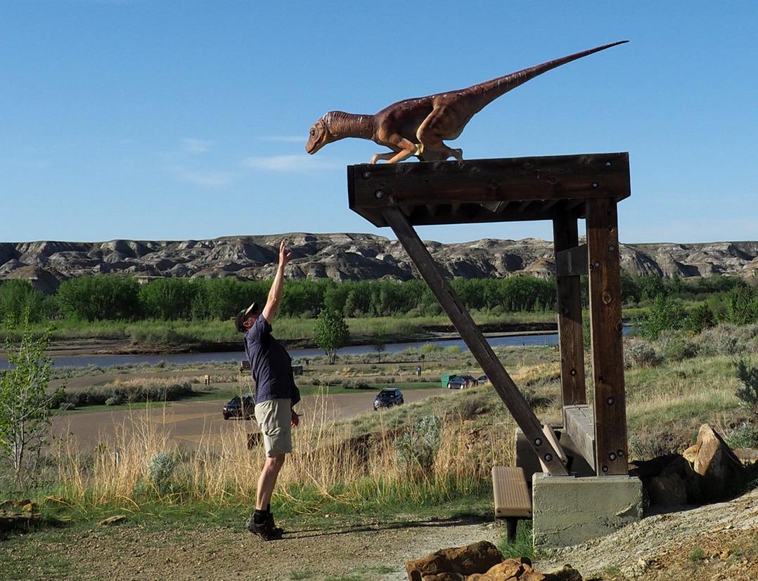 Dinosaur Campground's  Haussaurier