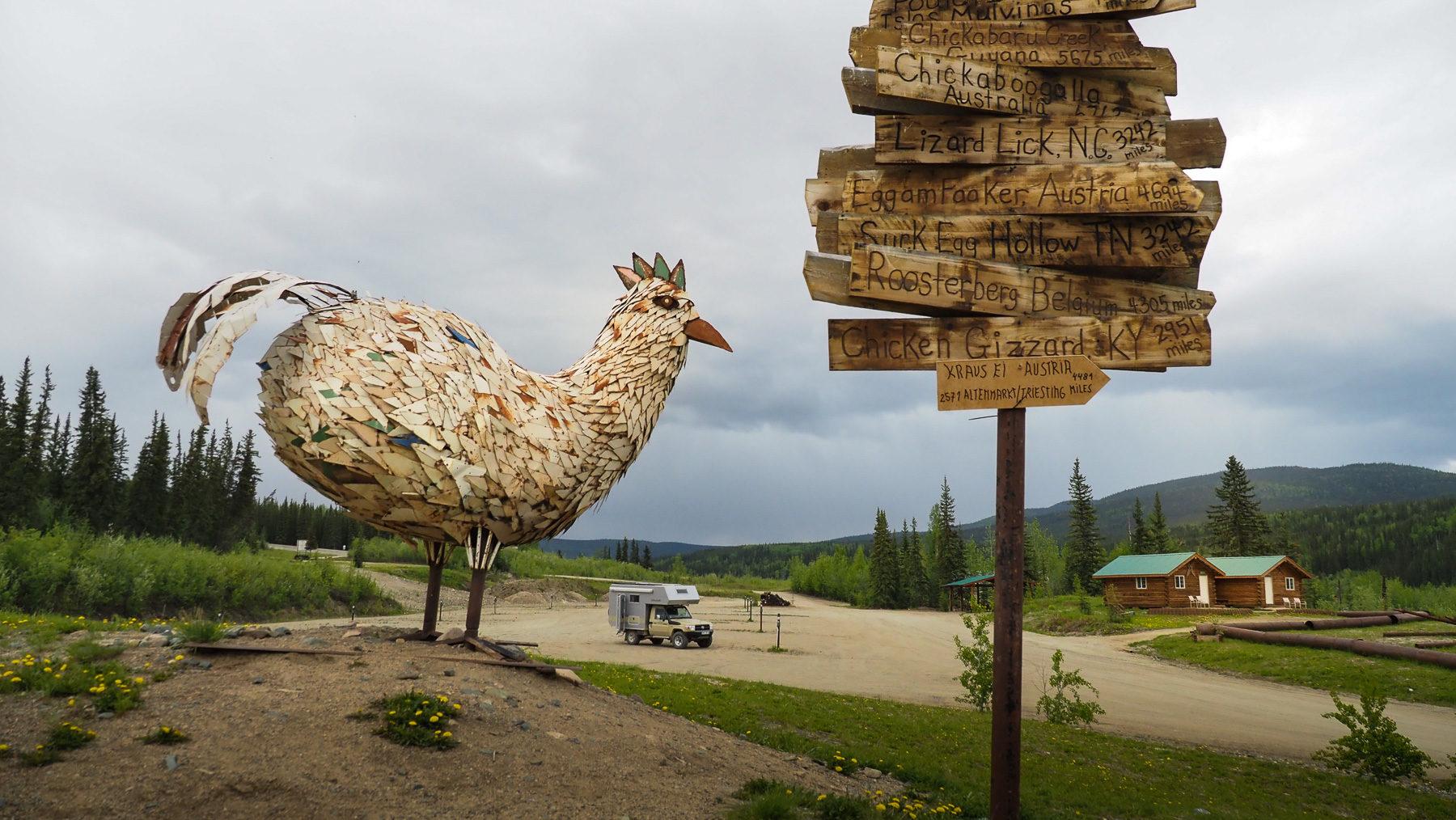 Chicken - Top-Attraktion im Nirgendwo