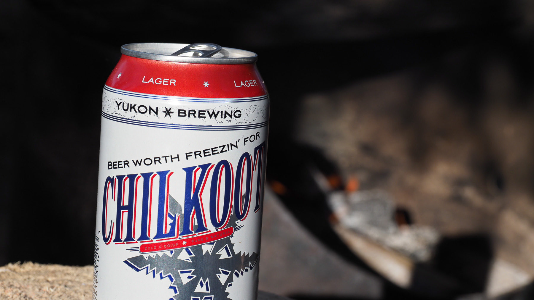 """Beer worth freezin' for"" - es ist immer noch kalt im Juni"