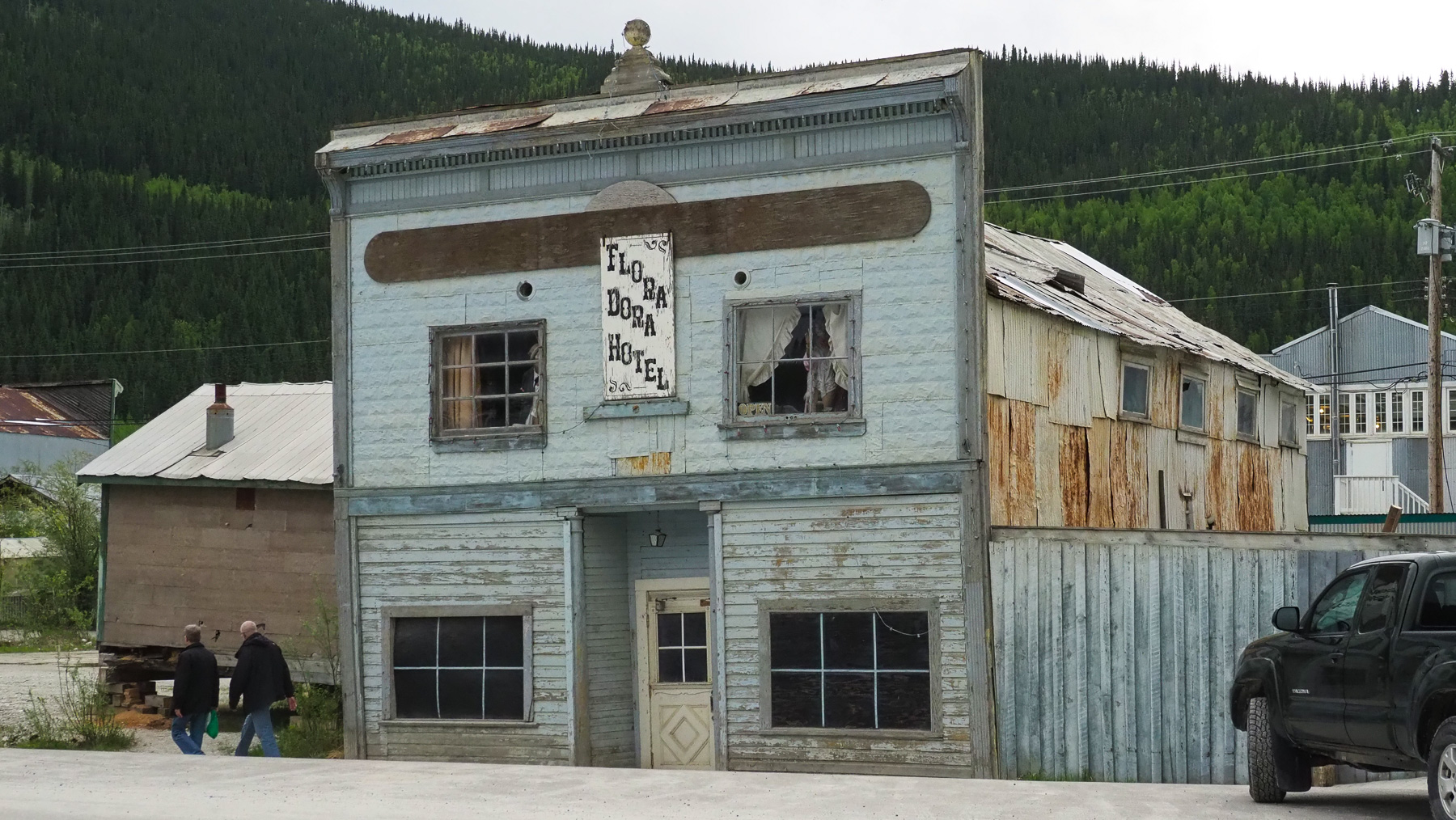 altes Hotel in Dawson City