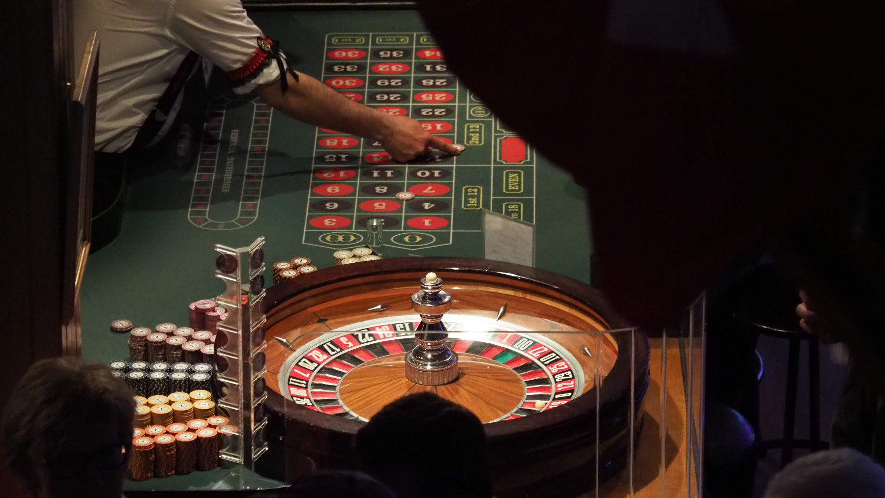 Roulette im Diamond Tooth Gerties
