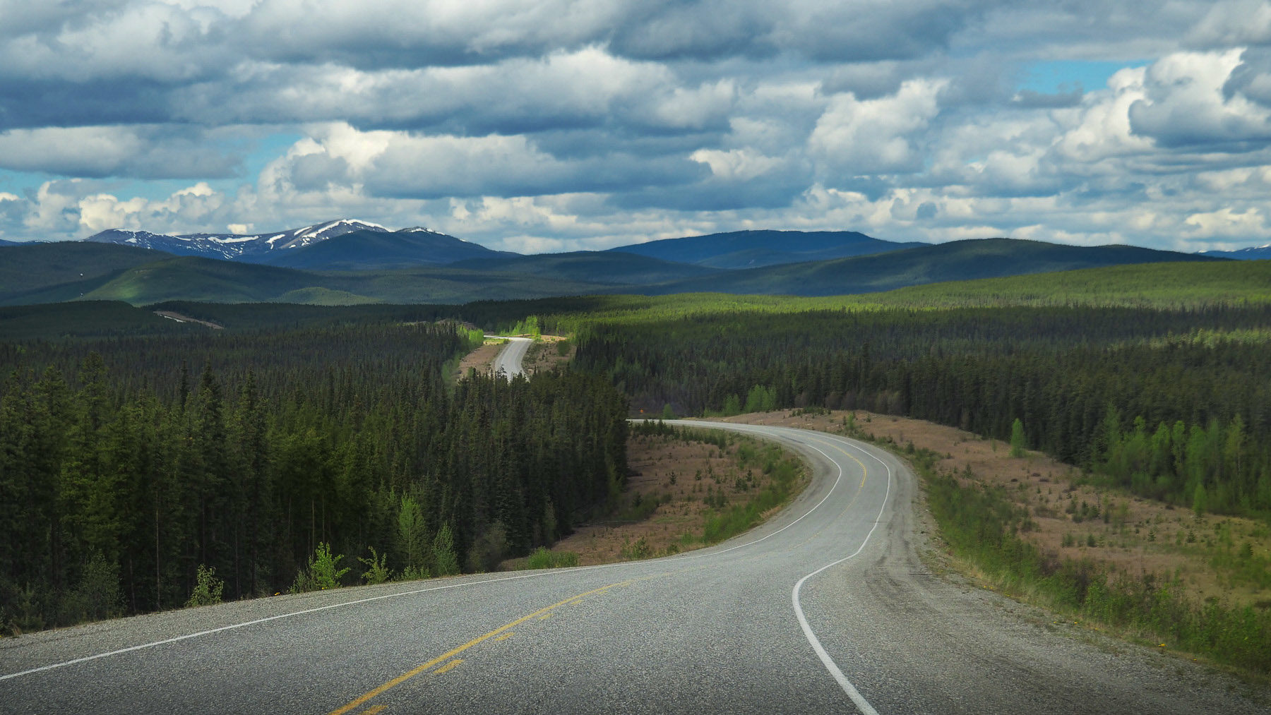 entlang des Alaska Highway
