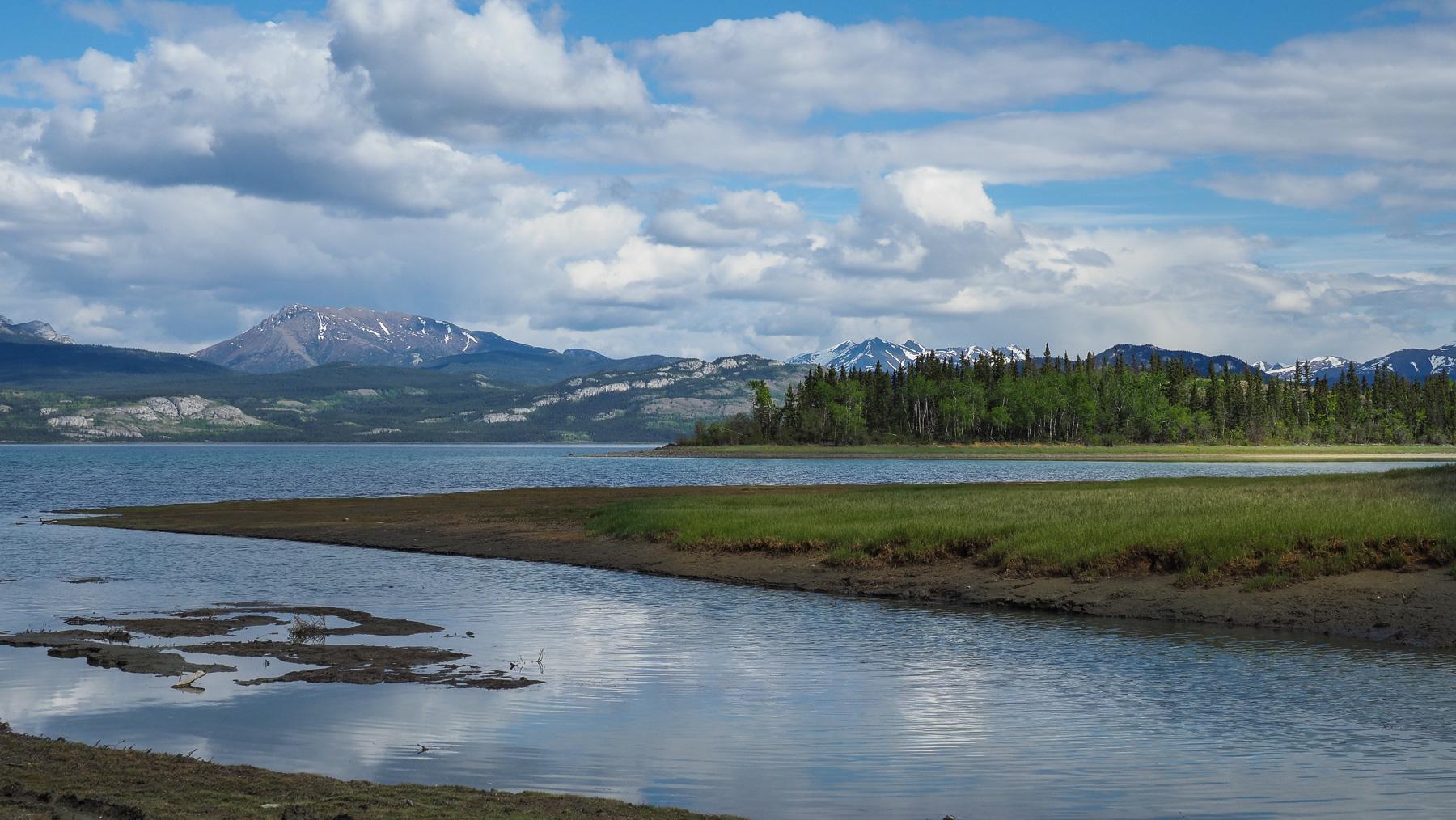 Lake Laberge, wunderschöner Platz direkt am See