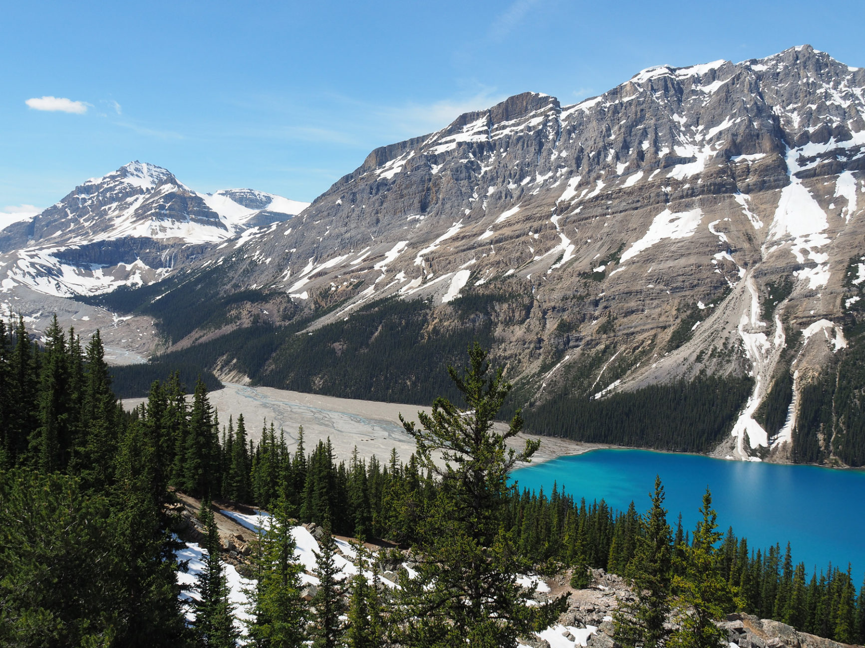 Peyto Lake - so blau!