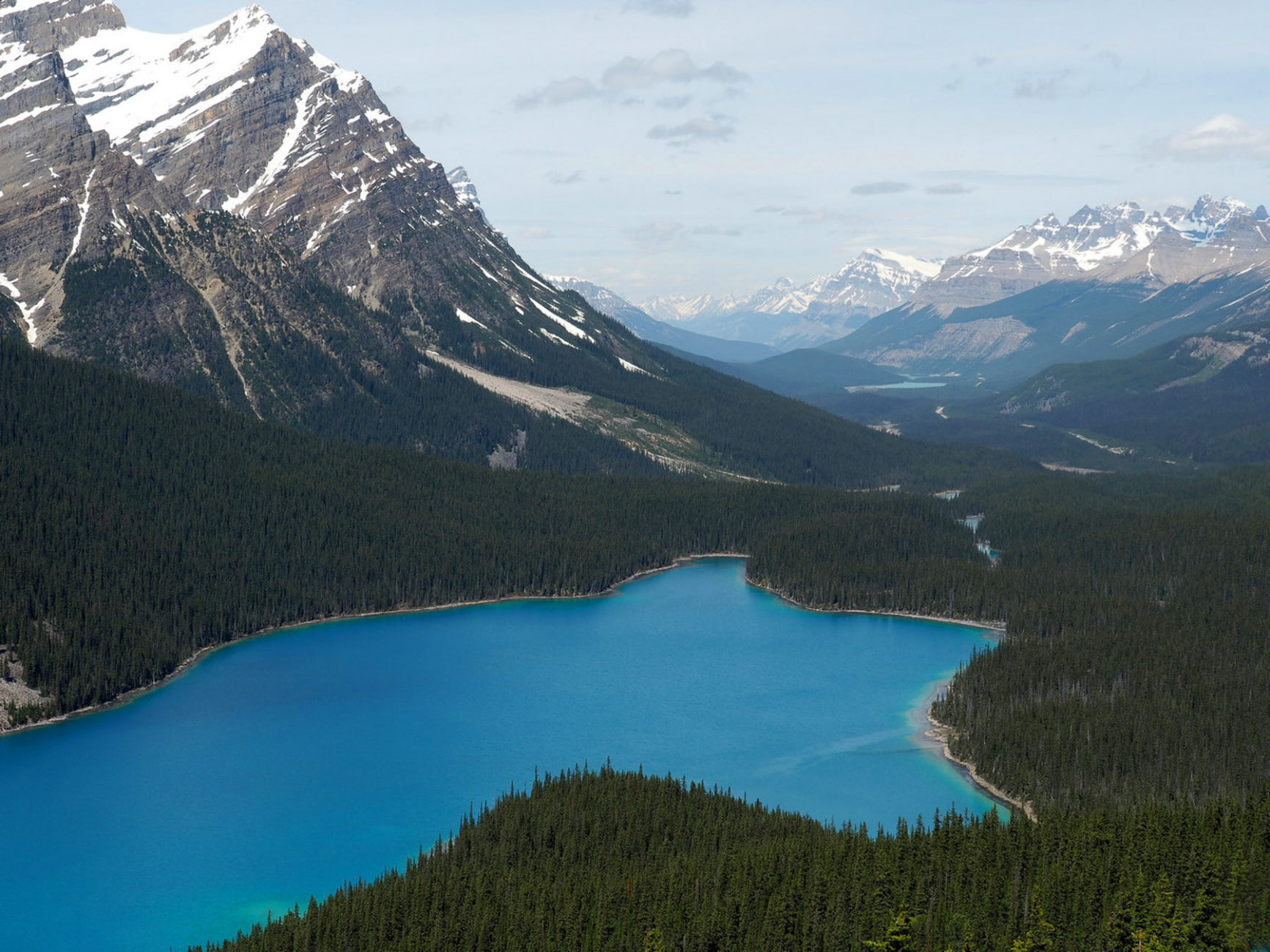 Peyto Lake - Icefields Parkway