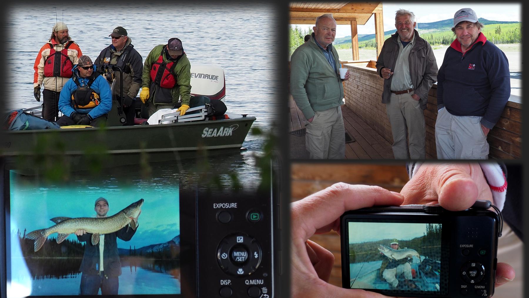 Begegnungen mit Fischern