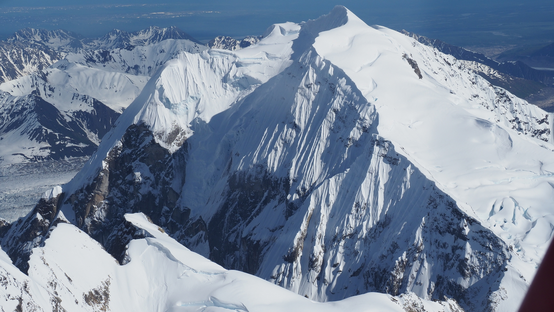 Berg in der Alaska Range