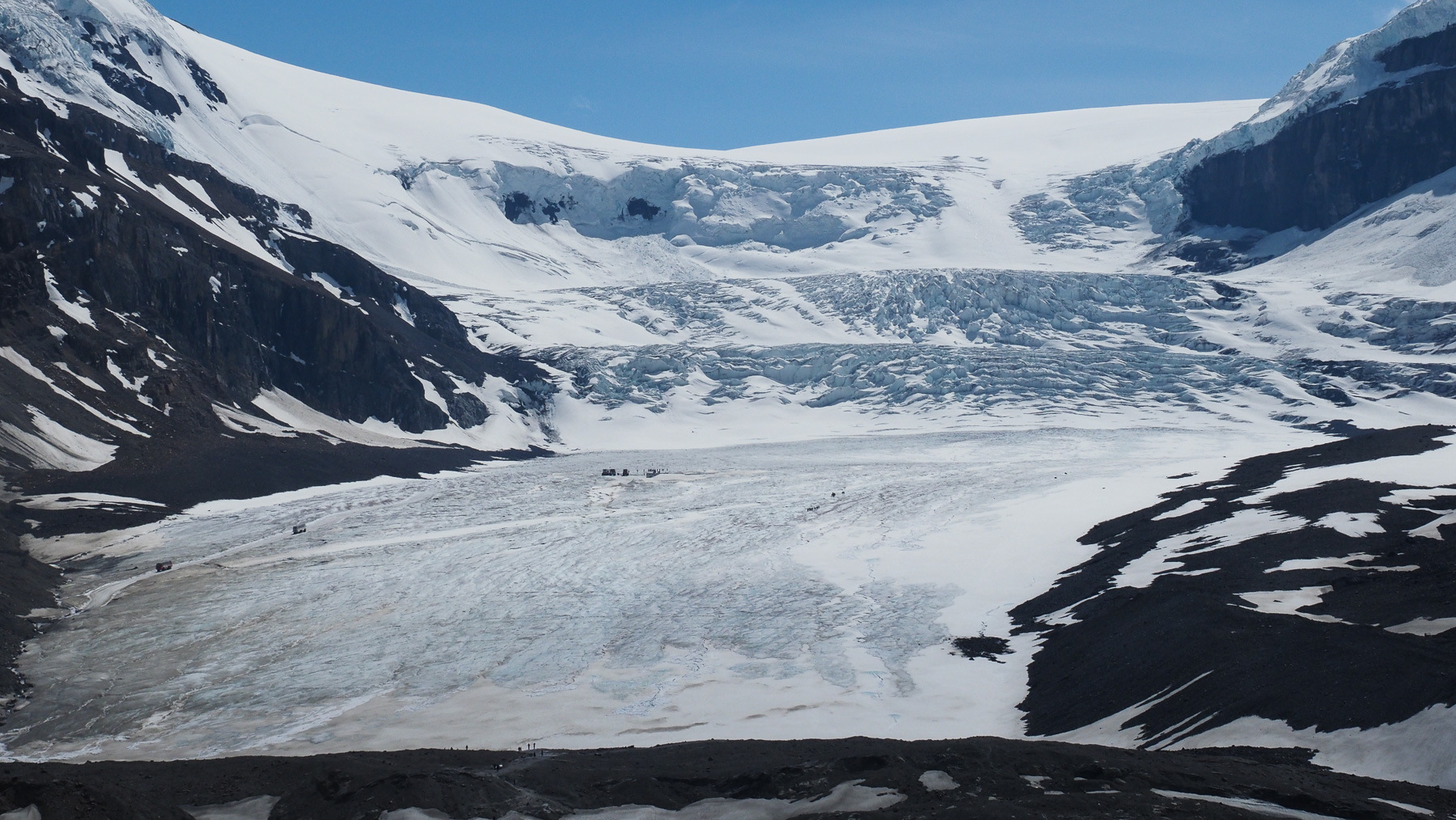 Athabasca Gletscher - Eistour Nepp