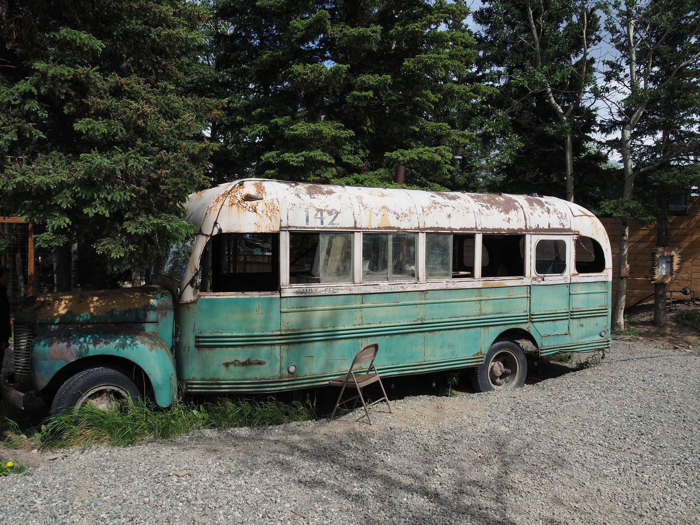 Bus aus dem Film Into the Wild