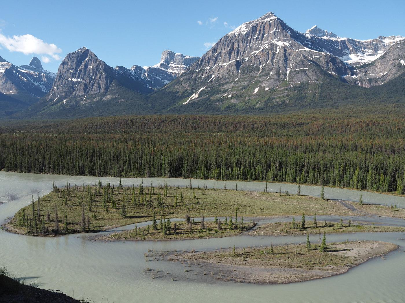 Traummotiv Athabasca Fluß