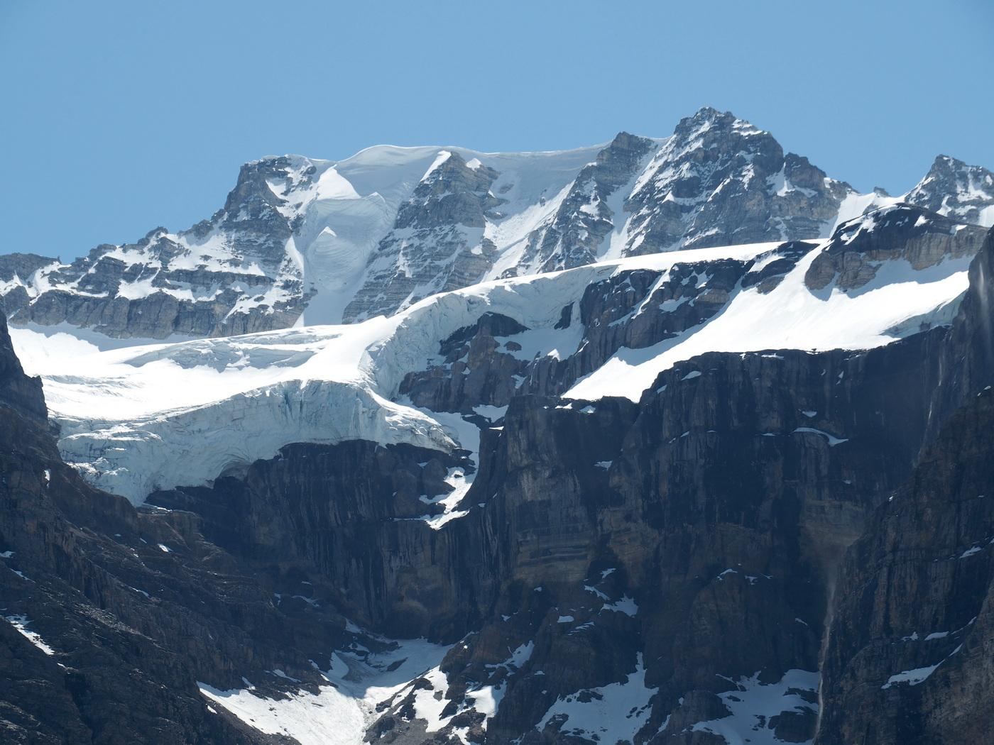 Icefield Parkway - Gletscher am Wegesrand