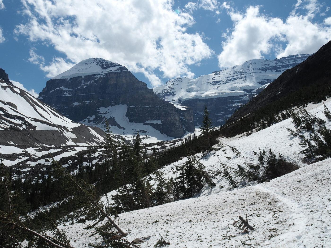 Lake Louise - Plain of Six Glaciers Wanderung
