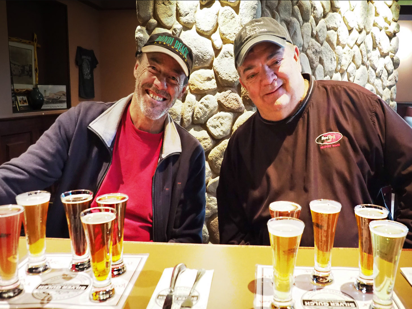 Biertest in der Silver Gulch Brauerei in Fairbanks