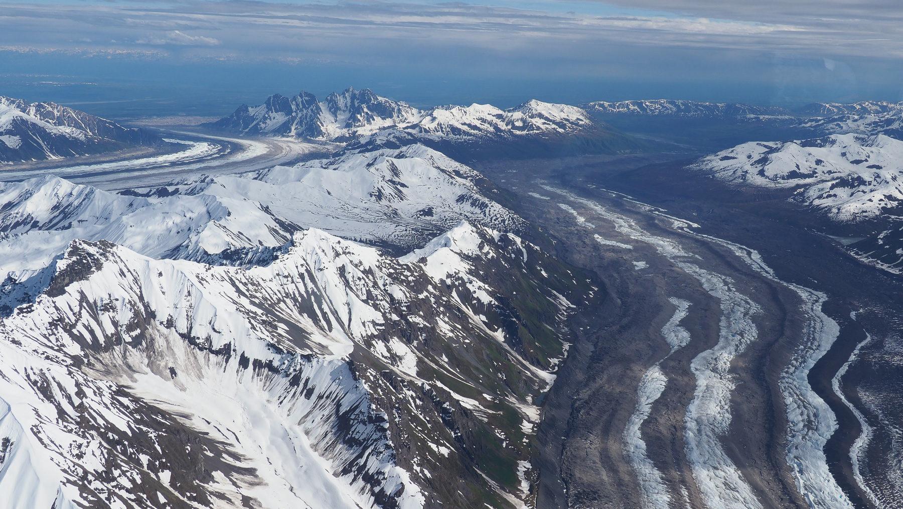 einer der vielen Gletscher