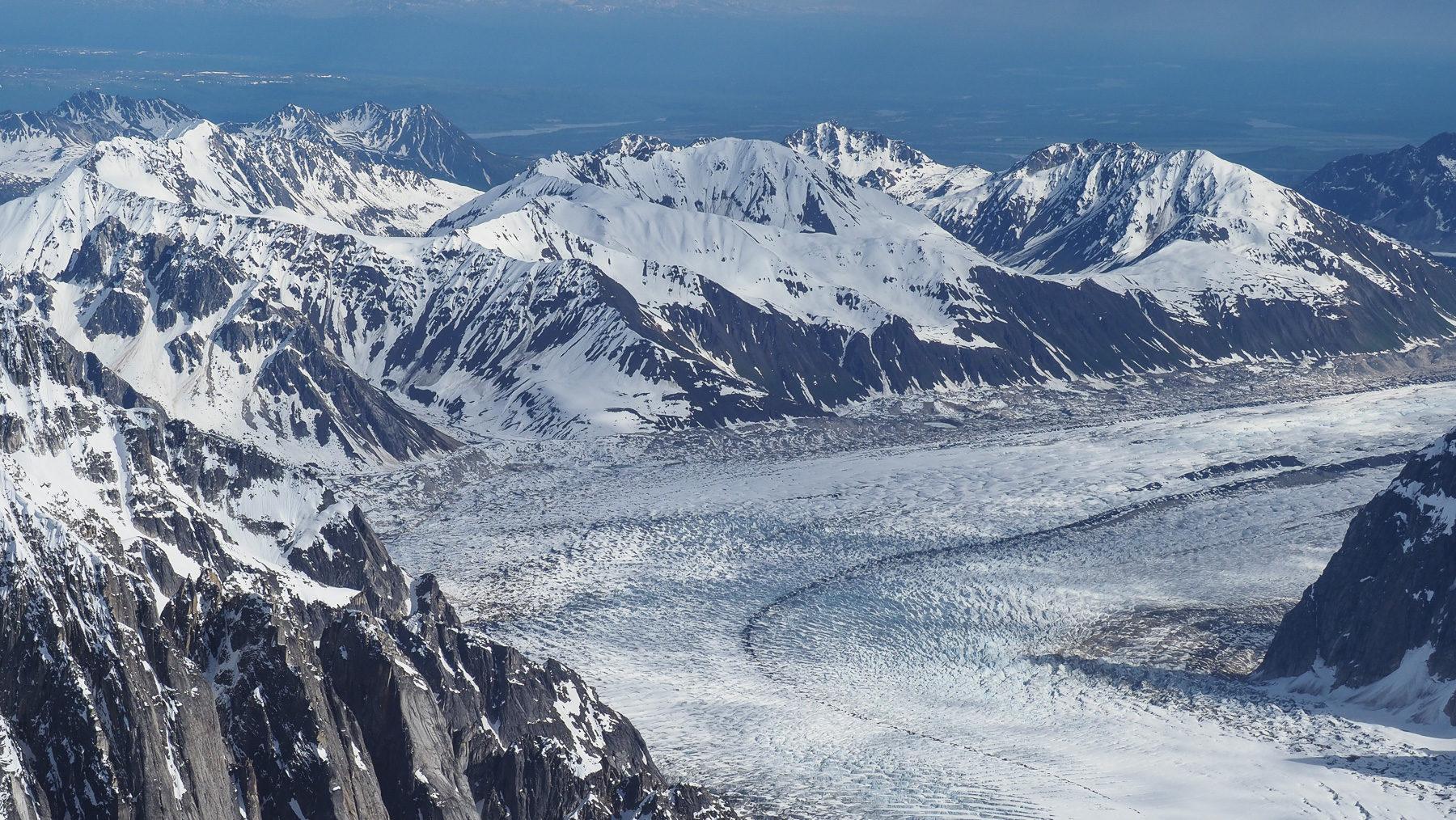 beeindruckende Gletscherströme