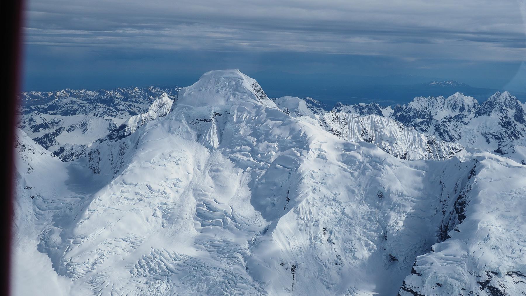 gewaltige Schnee- und Eismengen