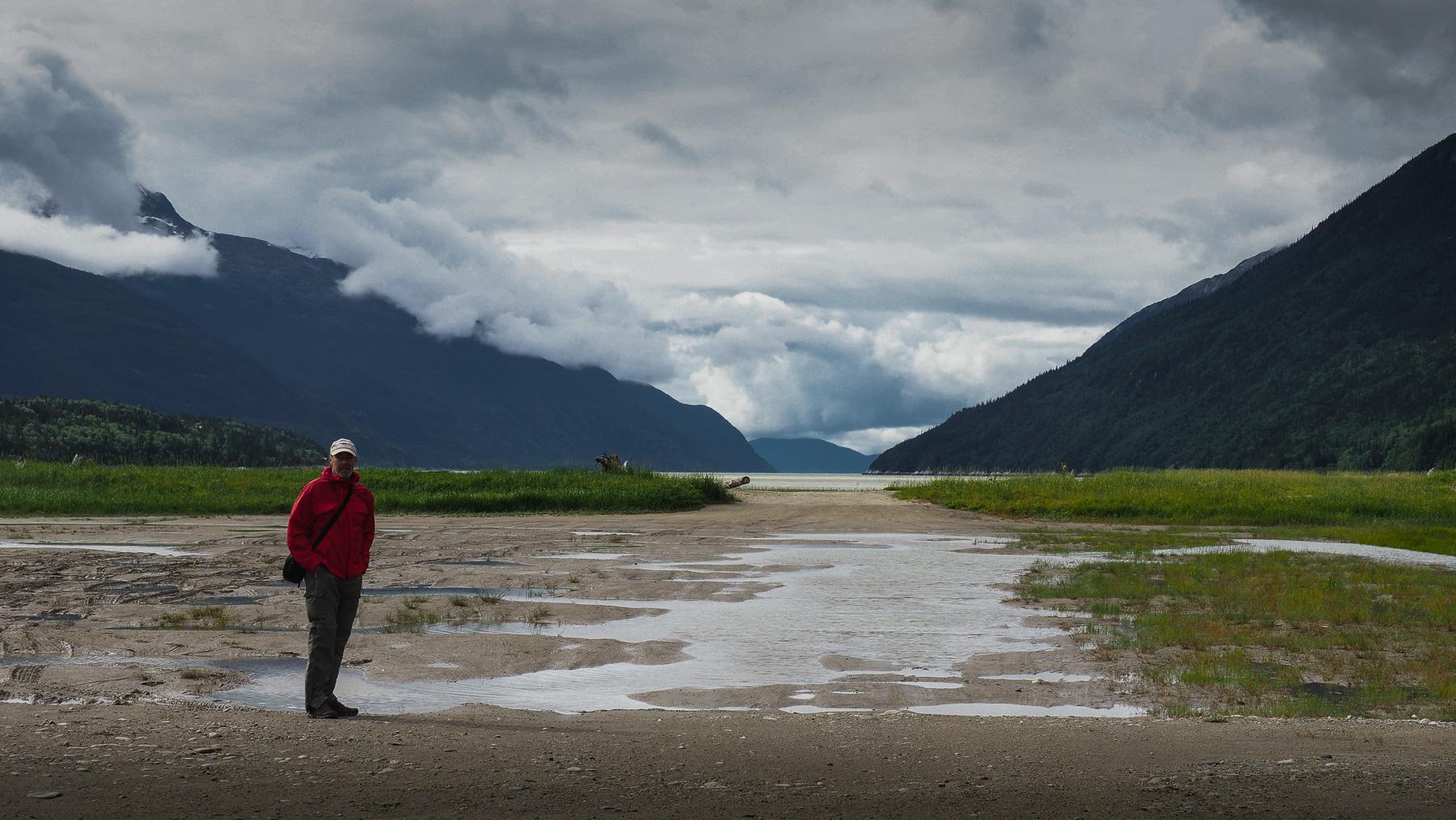 Wanderung bei Dyea - Ausgangspunkt der Goldgräber über den Chilkoot Pass