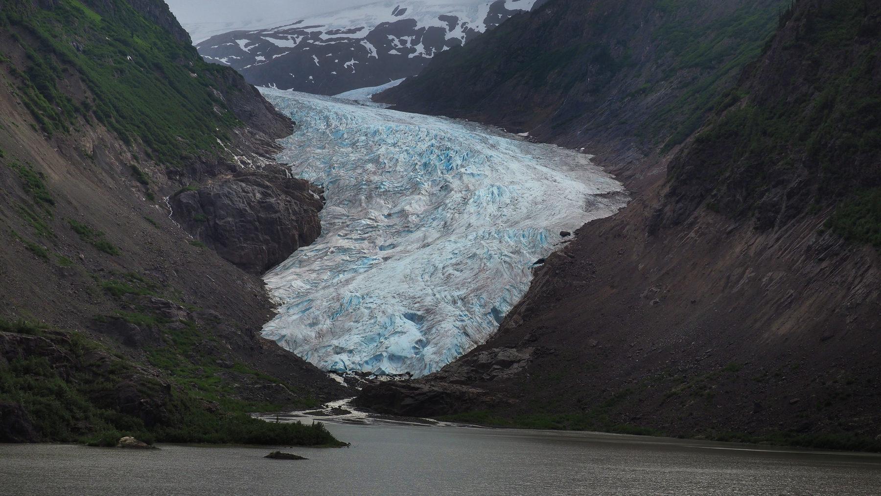 Bear Glacier, auf dem Weg nach Stewart