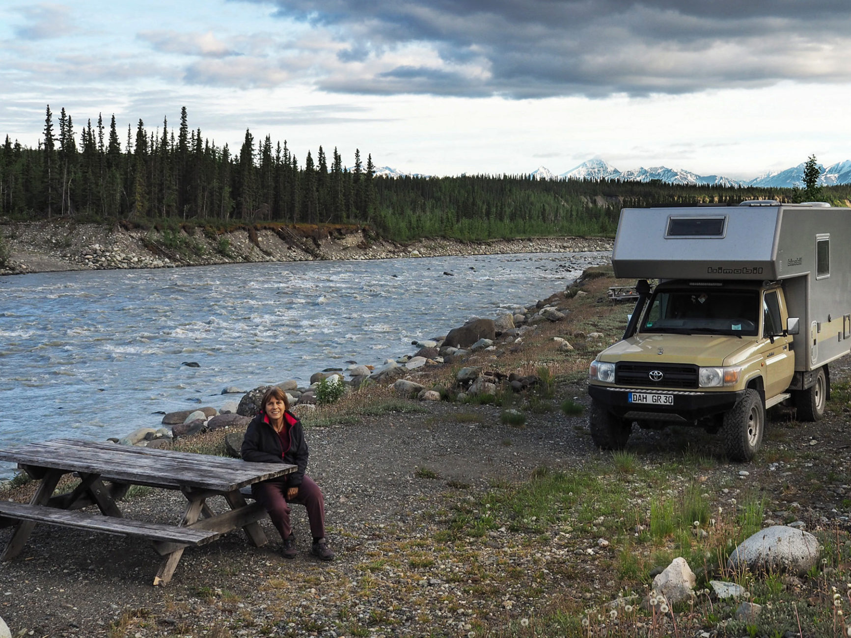 Übernachtungsplatz im Wrangell NP