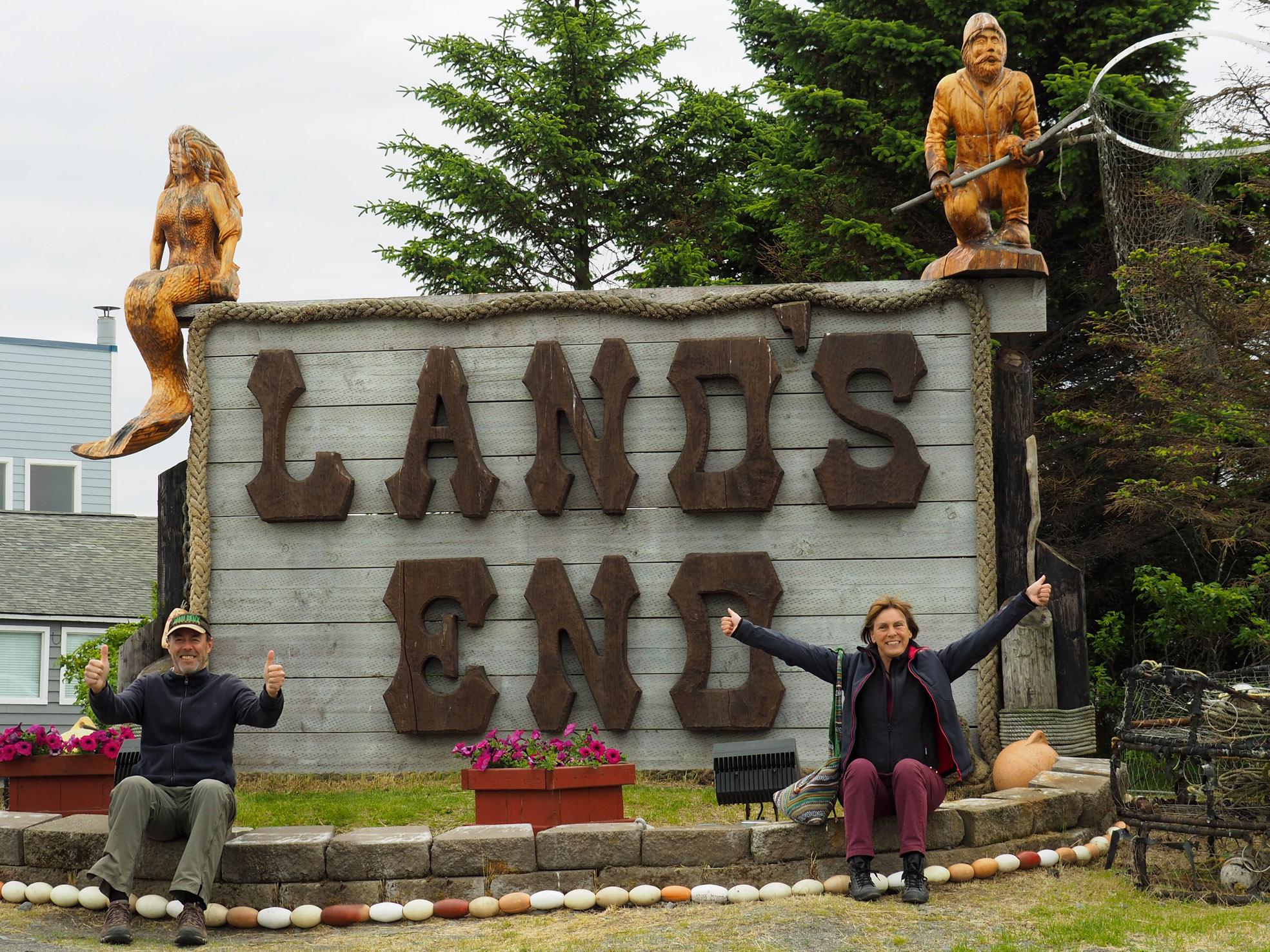 Lands End - unser Umkehrpunkt