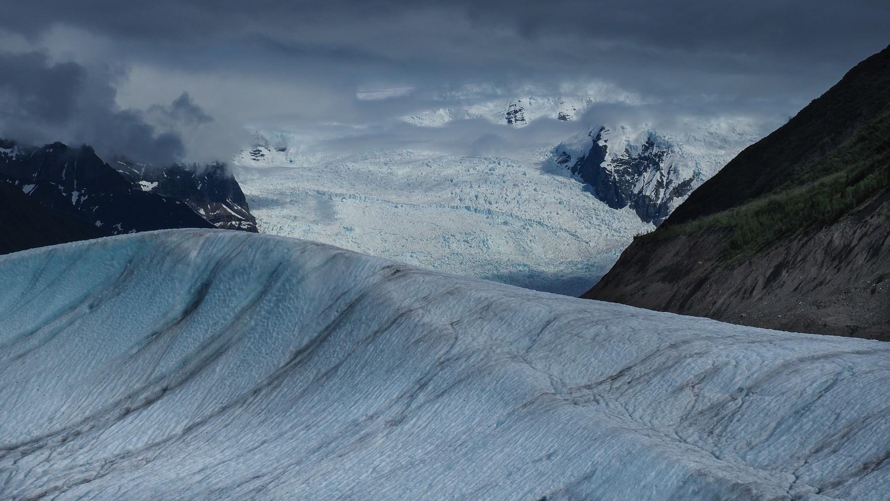 Wanderung zum Kennecott Gletscher