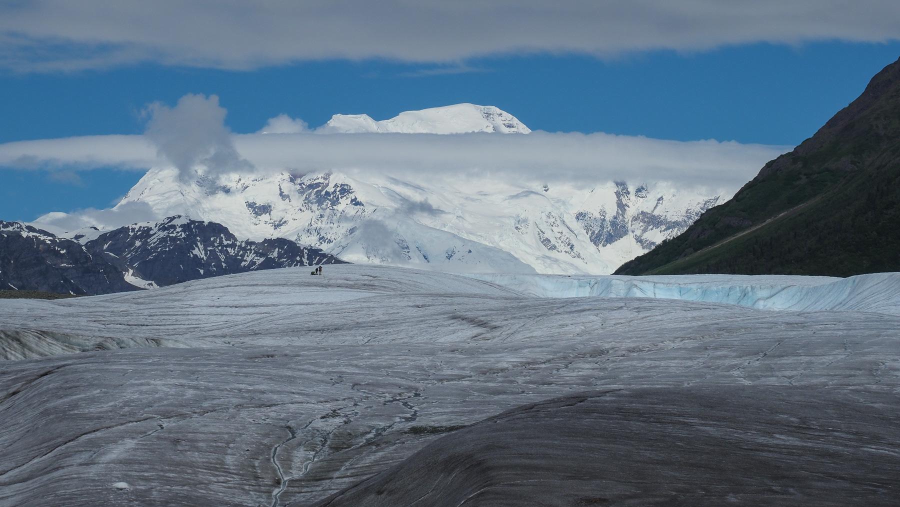 gigantische Bergwelt im Wrangell NP