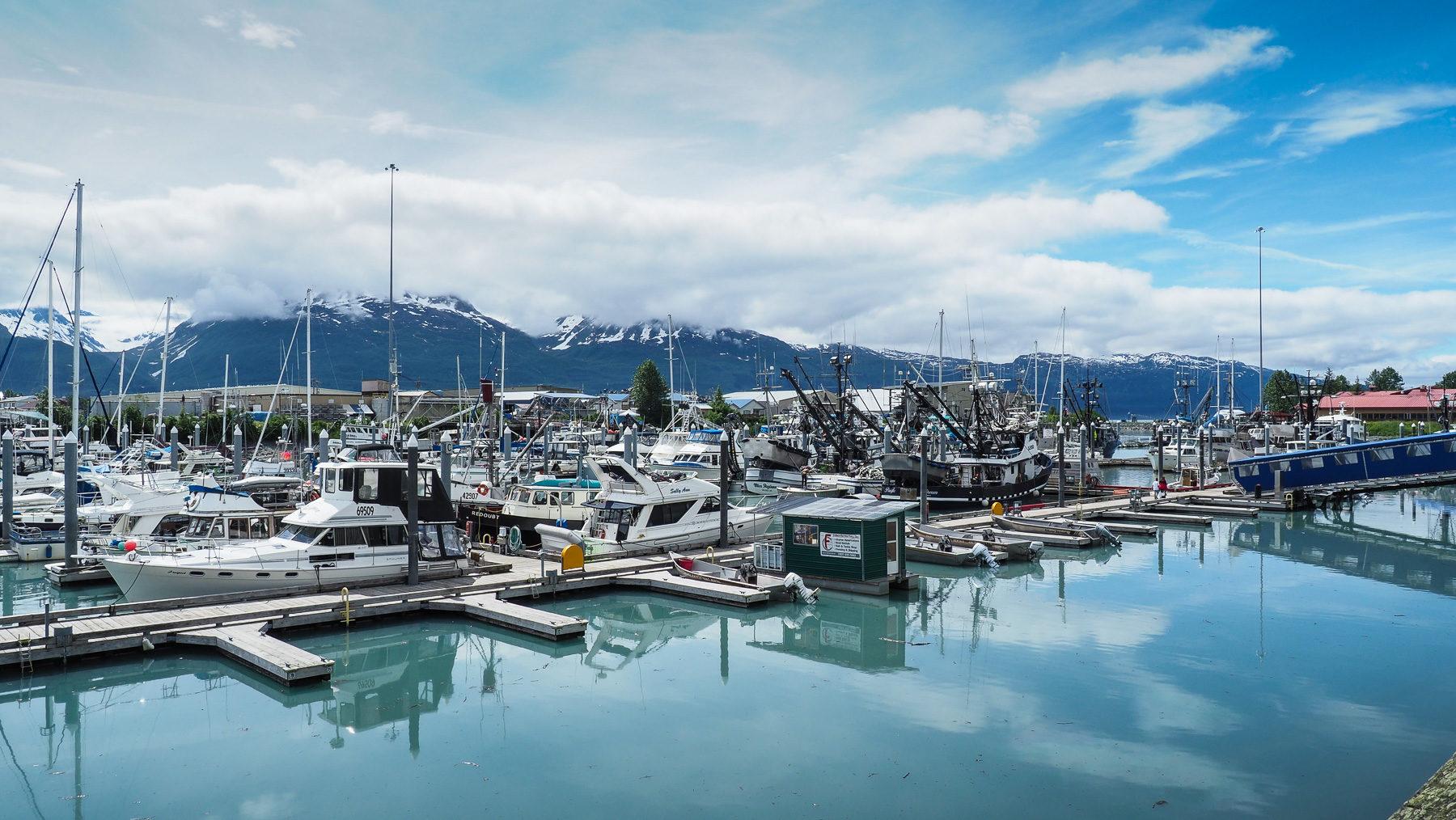 Fischerhafen in Valdez