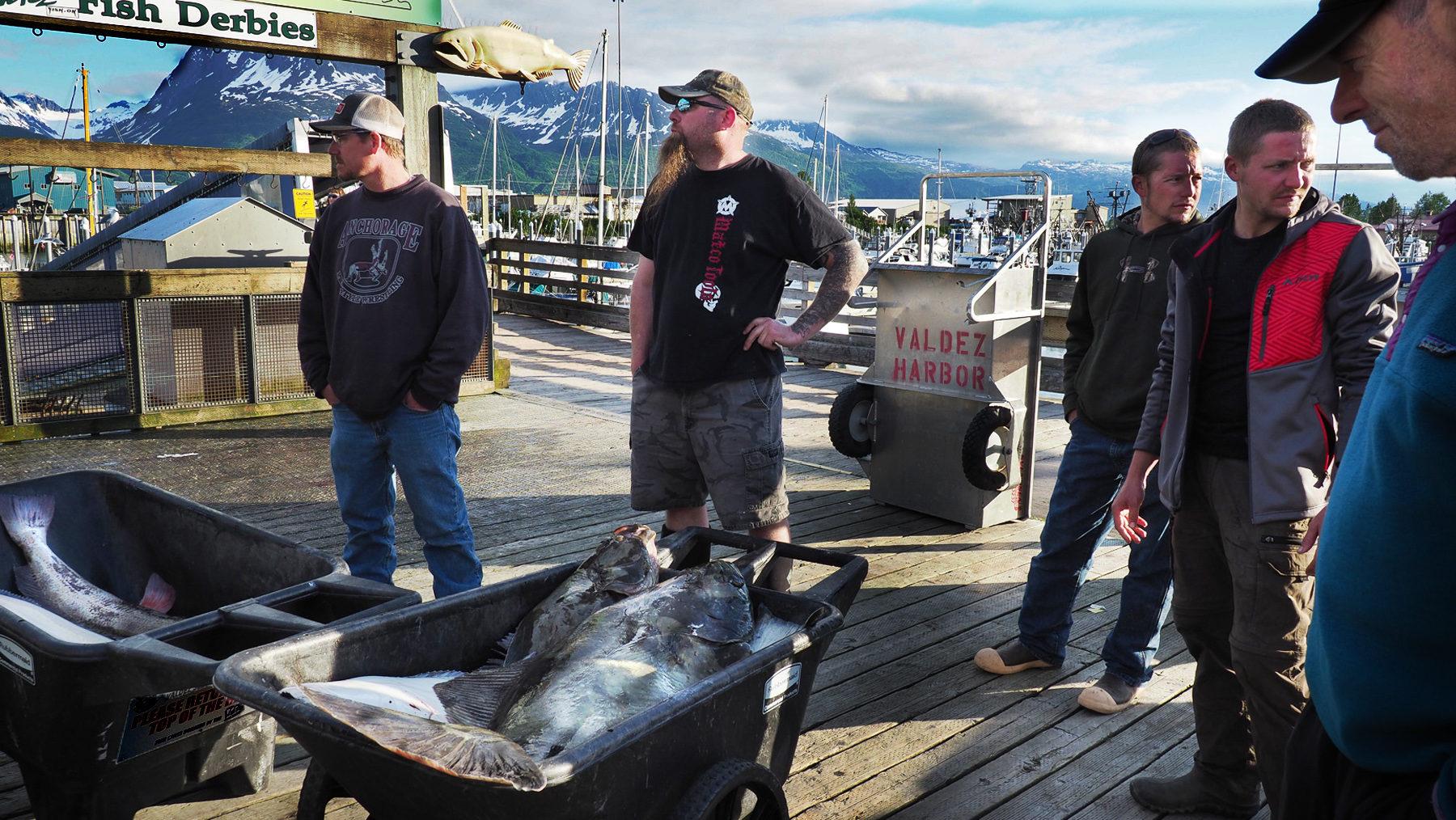 Valdez, alles dreht sich um's Fischen
