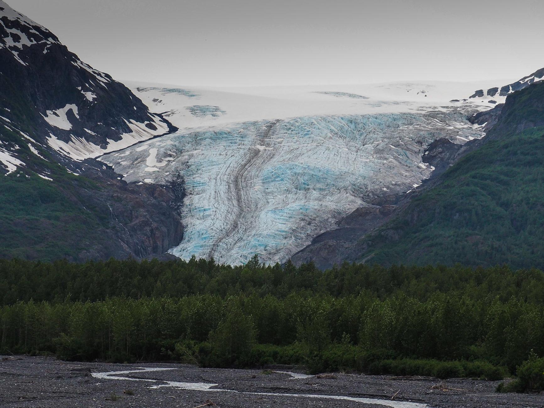 Exit-Gletscher bei Seward