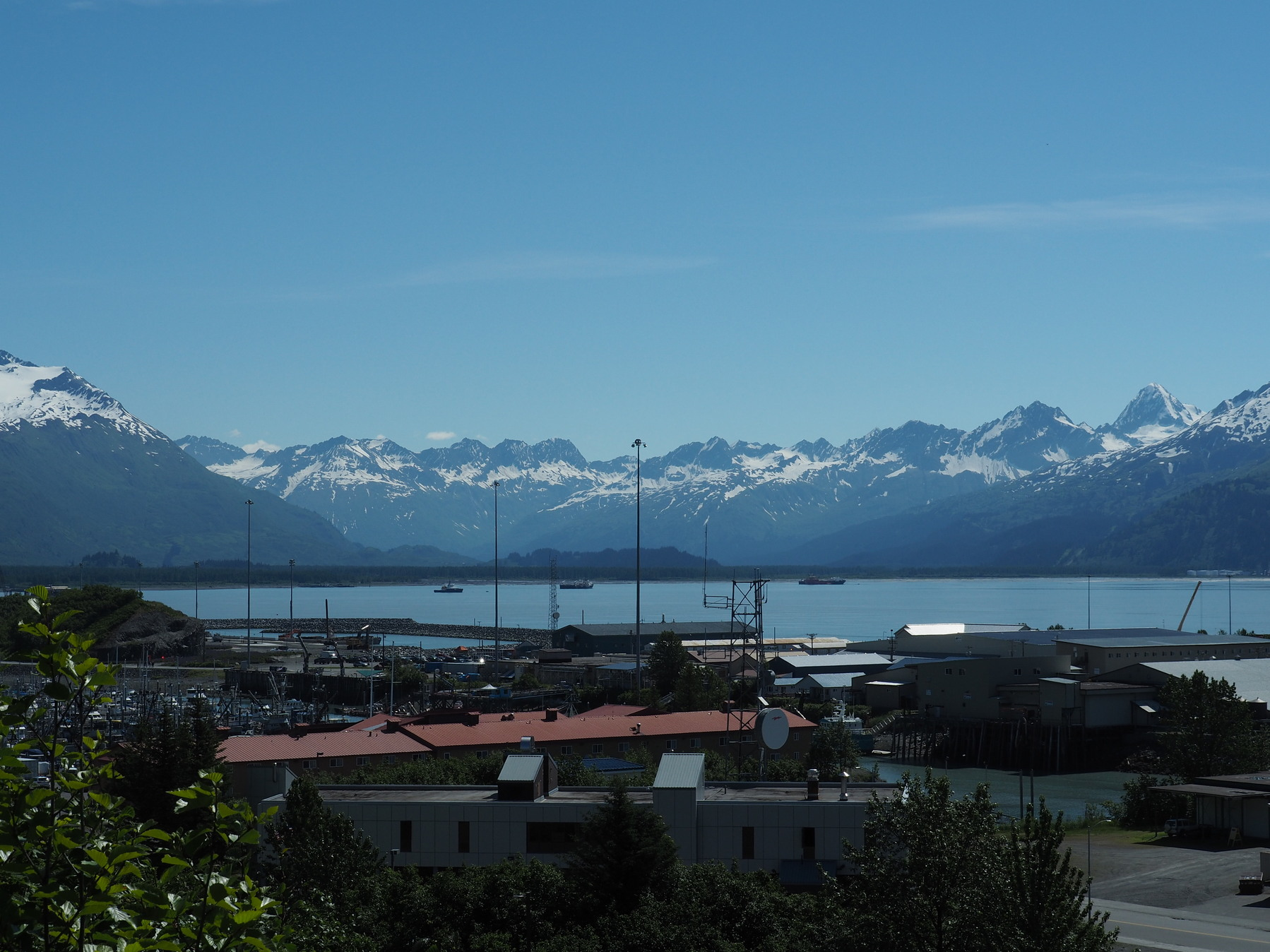 Teil der Bergkulisse von Valdez