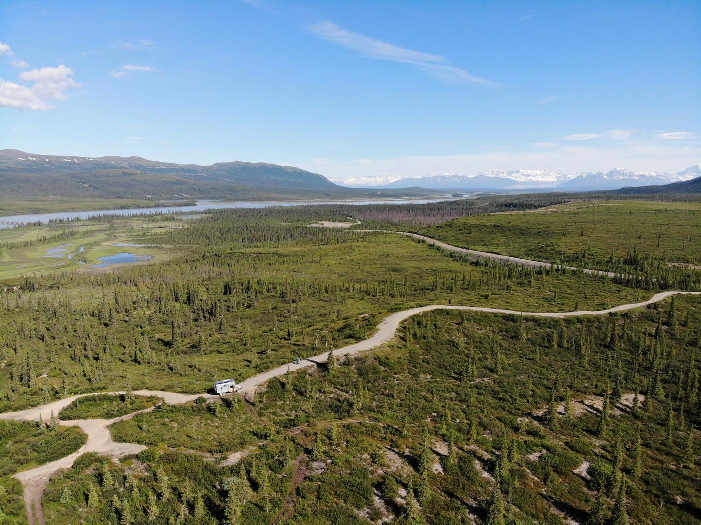 Stichstrasse zum Denali Highway