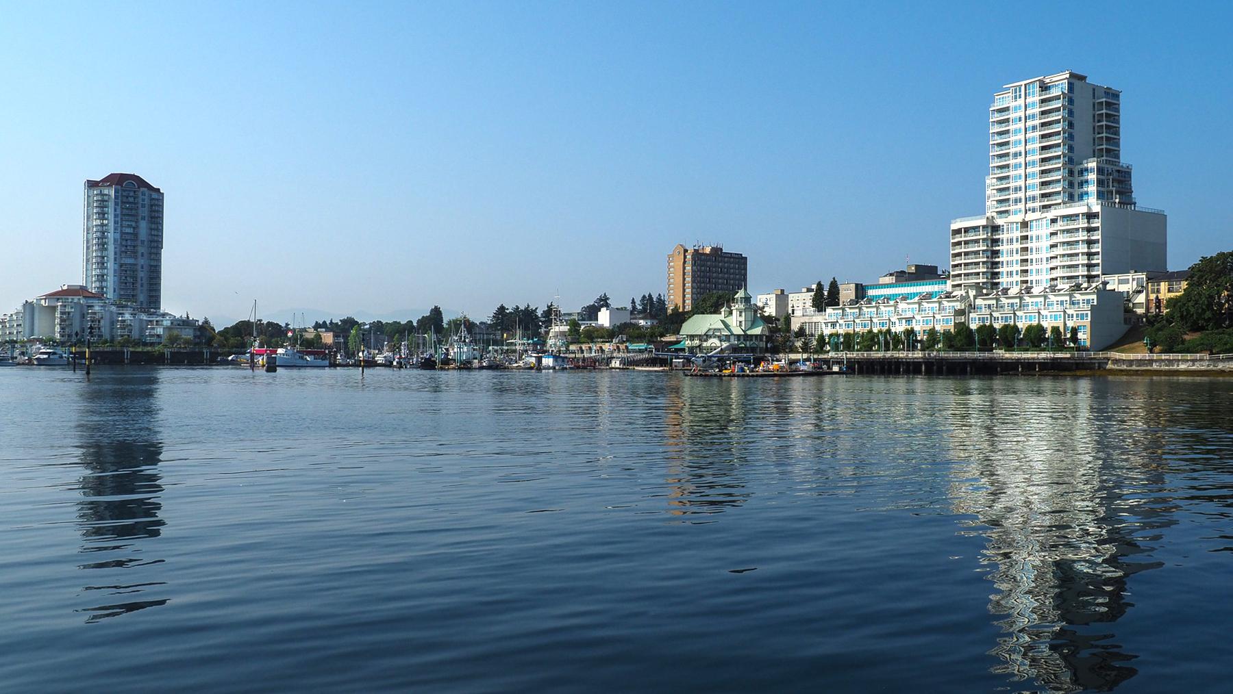 Nanaimo, hübsche kleine Stadt auf Vancouver Island